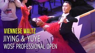 Viennese Waltz = WDSF PD Open Semi Final = Jiang Jiying & Zhao Yuye