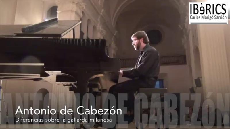 Carles Marigó Ibèrics Antonio de Cabezón Diferencias sobre la gallarda milanesa