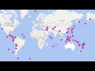 Землетрясения дня (128): Камчатка, Курилы, Вранча, Таджикистан, Греция, Сулавеси, Фиджи, Панама, Н.З