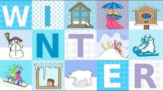 Deutsch lernen: der Winter, Schnee und Eis / learning German: winter, snow & ice