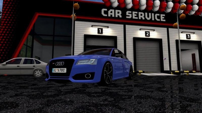 City Car Driving Audi S8 Plus D4 l Driving CCD