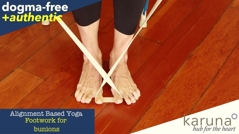 Yoga for Bunions Toe Ankle Foot Tension