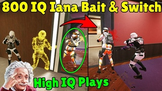 When Gold Players Use Their Brain To Win | 800 IQ Mode - Rainbow Six Siege