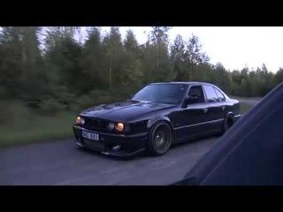 Bugatti Veyron 16.4 1001 HP vs BMW M5 E34 Turbo by AG [Uncut 4k ONE TAKE]