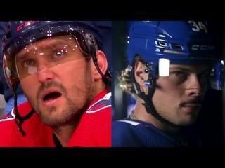 Ovi vs Matthews   NHL's Top Two Scoring Machines   Same Birthday