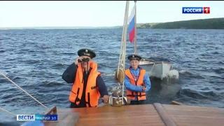 В Марий Эл воспитанники парусного клуба «Паллада» совершили учебный водный поход