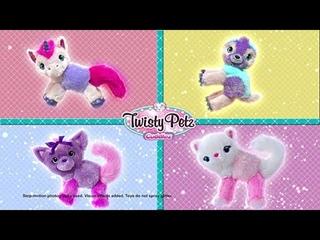 Twisty Petz Cuddlez, Snowpuff Unicorn Transforming Collectible Plush for Kids Aged 4 & Up
