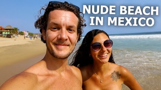 MEXICO'S NUDIST BEACH 🇲🇽 ZIPOLITE (OAXACA)