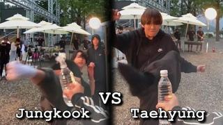 Jungkook vs Taehyung / Funny Skill Differencies (Part 2)