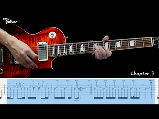 Eagles - Hotel California Guitar Lesson With Tab (Slow Tempo)