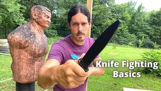 Kali Knife Fighting Basics Part One | Sak Sak Grip