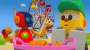 Детский мультфильм Грузовичок Лёва -Тир и игры в Парке Развлечений! Сборник мультиков про машинки.