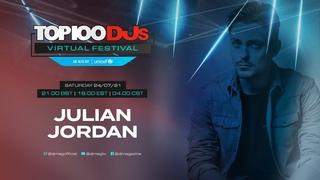 Julian Jordan live for the #Top100DJs Virtual Festival, in aid of Unicef
