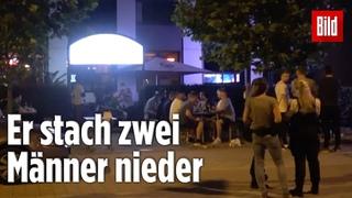 Beim Public-Viewing: Mann sticht zwei Sicherheits-Männer nieder | Magdeburg