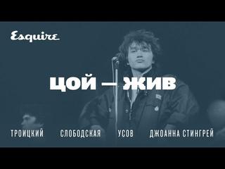 ЦОЙ — ЖИВ: Артемий Троицкий, Джоана Стингрей и другие вспоминают, каким был музыкант