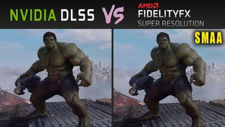 Nvidia DLSS vs AMD FSR (SMAA) // Graphics & Performance Comparison