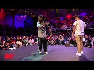 Icee vs Waydi FINAL Hiphop Forever - Summer Dance Forever 2015 |