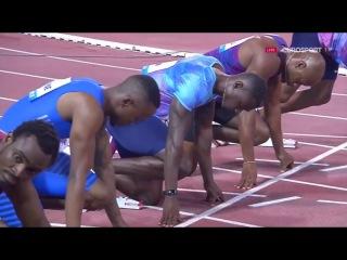 100m Men's - Diamond League Doha 2017