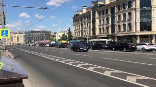 Новый кортеж Путина В.В., автомобили Аурус. New Putin's motorcade, cars Aurus.