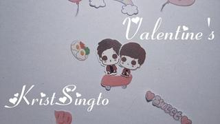 Krist Singto • Happy valentine's Day 2019 • stop motion • aristtpm a