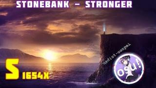 sadist-senpai | Stonebank - Stronger (feat. EMEL) [Empower] | 97,56% (Osu!)