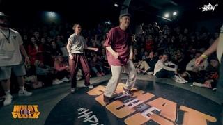 Irina . & Dam'en vs Ronin & Gulya | 1/8 Hip Hop 2X2 WHAT THE FLOCK 6