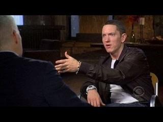 Интервью Эминема на канале CBS в передаче «60 Minutes»   на русском языке