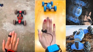 🏎️GESTURE CONTROL - DOUBLE-SIDED STUNT CAR🏎️