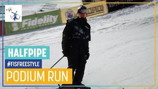 Nico Porteous   3rd place   Men's Halfpipe   Aspen   FIS Freestyle Skiing