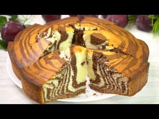Вкуснее 😋 ЧЕМ по этому рецепту  пирог «Зебра» я еще не пробовала!