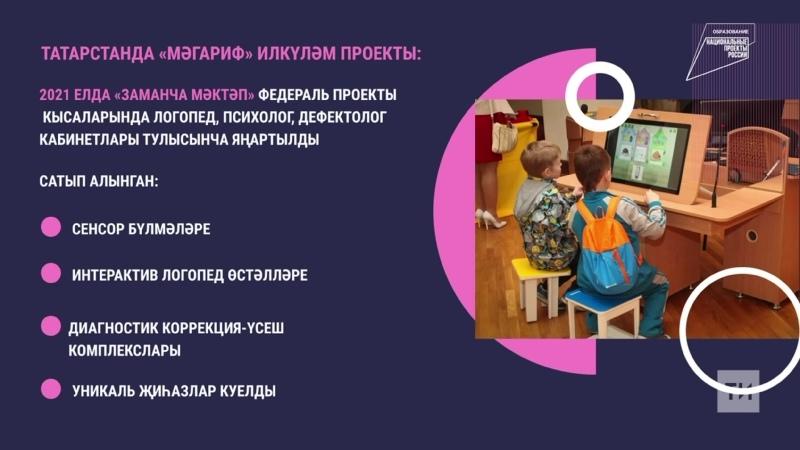 Мәгариф илкүләм проекты буенча Казанда мөмкинлекләре чикләнгән балалар өчен ике мәктәп җиһазландырылды