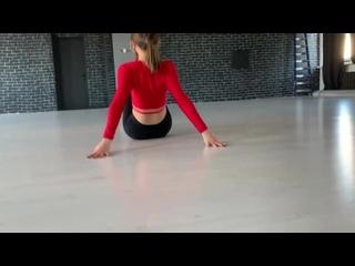 Strip plastica in dance school Movement