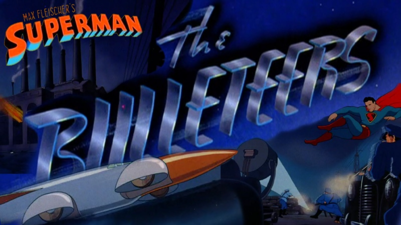 Супермен Superman 1941 5 серия Налетчики пулеметчики