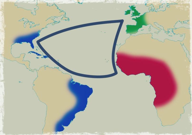 «Треугольная» атлантическая торговля