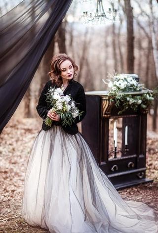 """стилизованный свадебный воркшоп """"Black&white"""""""