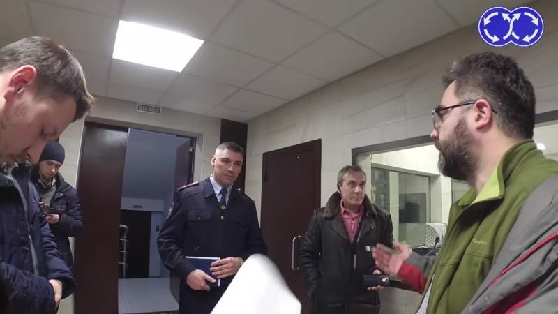 Движение Уволен подполковник из ОВД Марьино напавший на блогеров