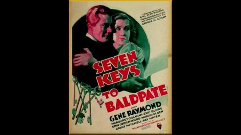 Seven Keys to Baldpate 1935 Gene Raymond Margaret Callahan Eric Blore