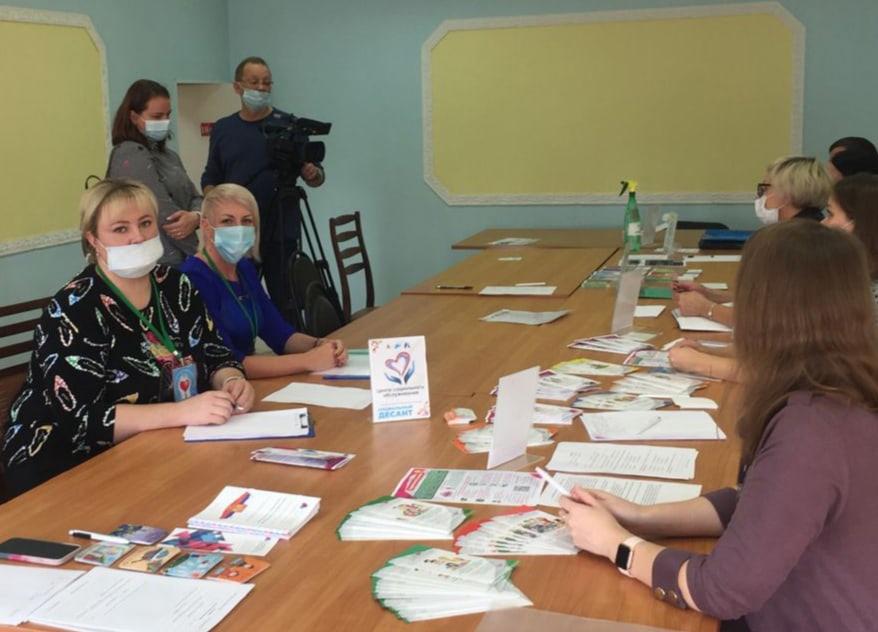 На сегодняшний день «Социальный десант» прошел в городе Мирный.