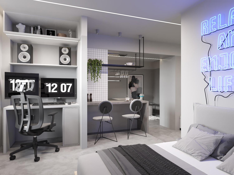 Проект квартиры почти 30 кв.