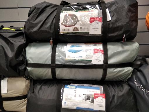 Распродаем кемпинговые палатки с незначительными дефектами!
