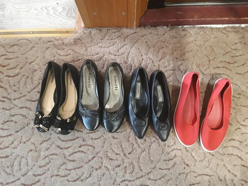 Туфли, балетки одевались буквально один | Объявления Орска и Новотроицка №28687