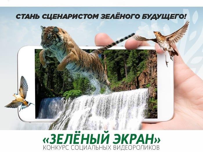 Стартовал конкурс видеороликов «Зелёный экран»
