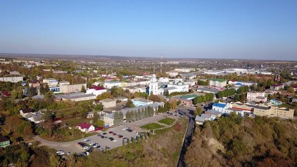 Вид на Ново-Казанский собор сверху 😍📍Лебедянь, Инт...