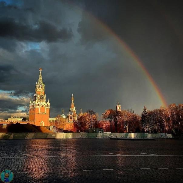 Жители Москвы стали свидетелями редкого явления — ...