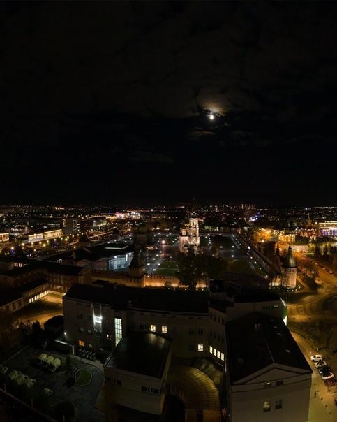 Вечерний вид на осенний город ????  #тула #тулаlife