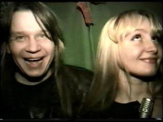 1995 Валерий Кипелов и Сергей Маврин, группа Ария, в телешоу Железный марш