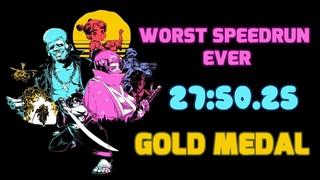 Худший Спидран в Мире - Katana ZERO - Gold Medal