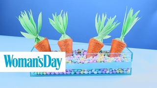 Twine Carrot Candy Holders | Woman's Day