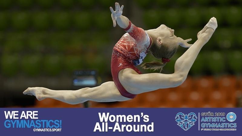 2019 Artistic Junior Worlds Women's All Around Highlights We are Gymnastics
