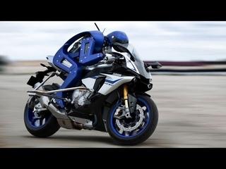 Робот-байкер Motobot: Вызов лучшему мотогонщику планеты